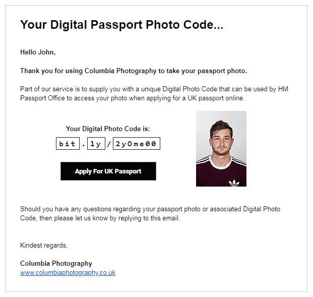 digital passport photos